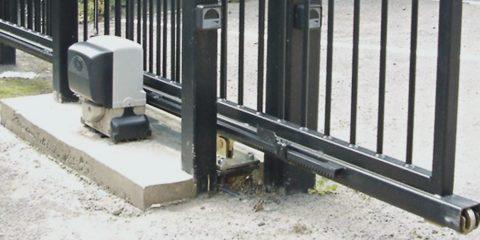 Система концевых выключателей для откатных ворот