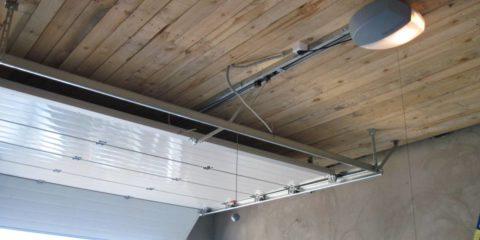 Автоматика для секционных гаражных ворот