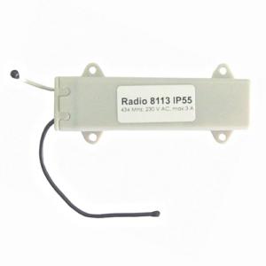 Радиоуправление одноканальное Radio 8113 IP55 в короб