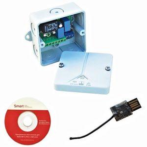Радиоуправление одноканальное Radio 8615 IP65 с USB-stick